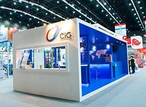 CiG Trade Show Stand