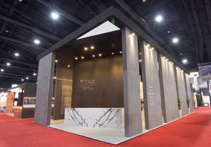 1 TAK exhibition stand at ASA 2018 by Fret Free Productions