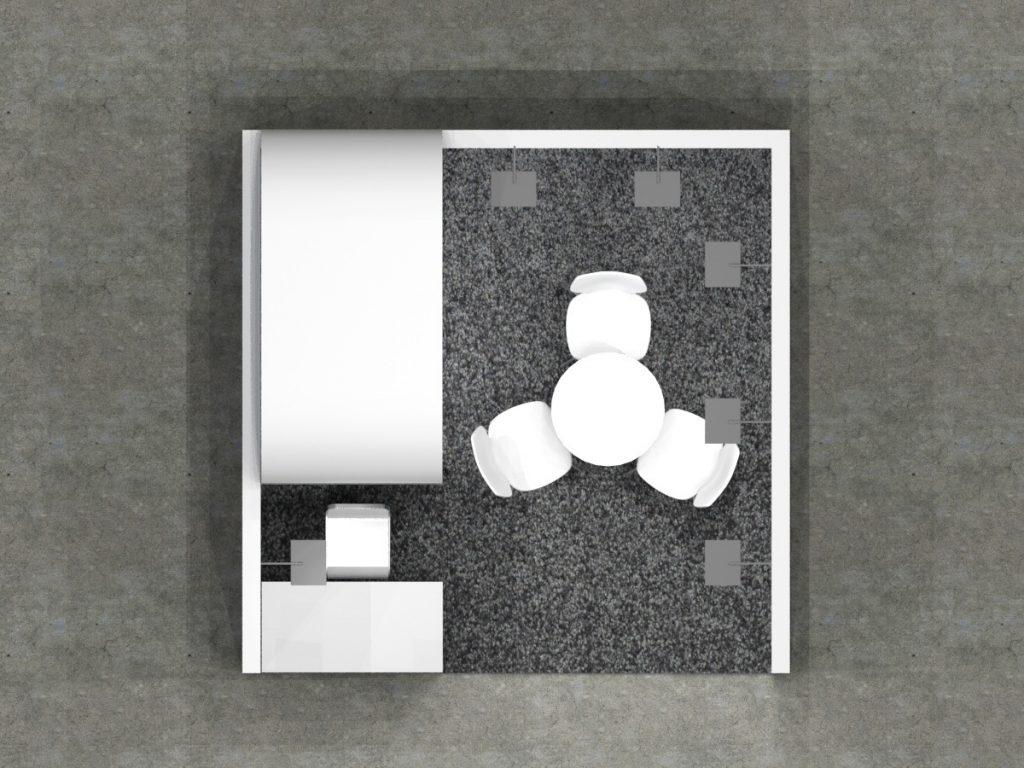 3x3 - Side Tower Open Floor Plan