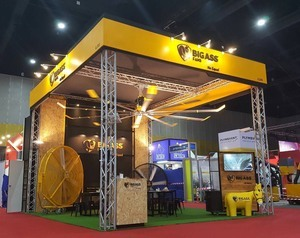 Big A Stand - Fret Free Productions - Exhibition Stand Builder UK
